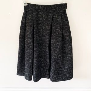 H and M A-line skirt.